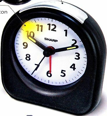 Sharp Alarm Clock Battery Operated Unique Alarm Clock