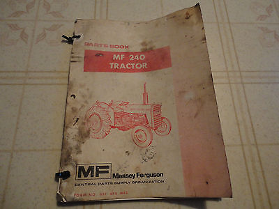 massey ferguson 240 parts diagram 2001 jaguar s type fuel pump wiring tractor book manual catalog 36 16