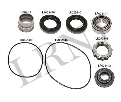 LAND ROVER REAR Differential Seal Kit With Fluid Lr2