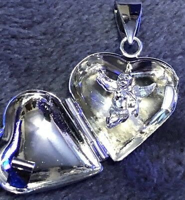 vintage silver plate heart