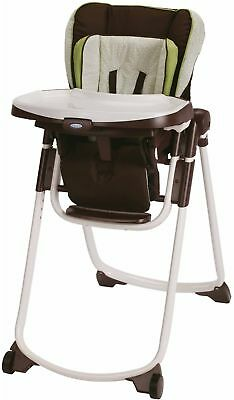 graco space saver high chair antique rocking with leather seat slim spaces go green baby infant kid new best gift