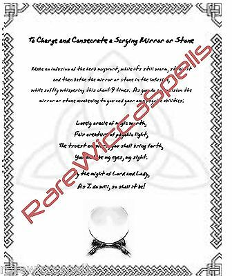 BANISHING SPELL, Book of Shadows Spell Page, Wicca