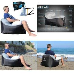 Intex Ultra Lounge Chair And Ottoman Club Inflatable With Cup Holder Set Open Box
