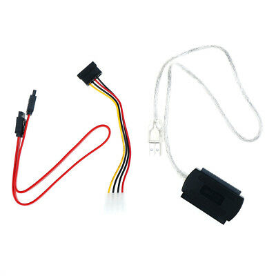 SATA/PATA/IDE DRIVE TO USB 2.0 Adapter Converter Cable for