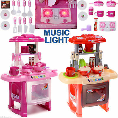 kids kitchen toys aid knife set portable electronic childrens cooking girls cooker play uk