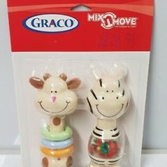 Graco Swing Chair Zebra Panton Review Mix N Move Replacement Toy Rattle Euc Cute Stroller Brand New Highchair Giraffe And