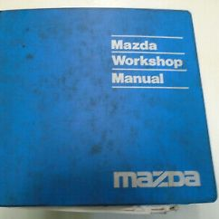 1993 Mazda B2600 Wiring Diagram 3 Wire 220 Volt 1989 B2600i B2200 Service Shop Manual Oem Book Truck Repair 93 Factory X