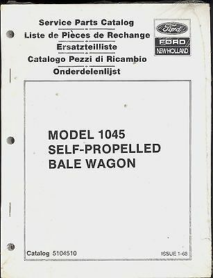 NEW HOLLAND 1048 1049 1035 1044 1045 1046 1047 Bale Wagon