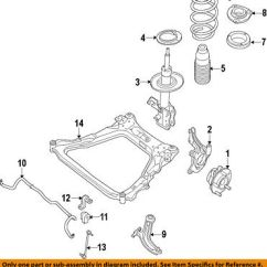 Nissan Titan Front Suspension Diagram Ac Blower Motor Wiring Looking For Of Heat System Oem Strut Mount Bolt 56127eg00b 6 72 07 13 Altima Bearing 54325ja00a