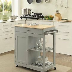 Kitchen Block On Wheels Ideas For Small Kitchens Galley Butcher Island Mobile Dining Room Storage Cabinet Shelves