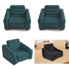 Twin Bed Pull Out Chair Attach To Stool Inflatable And Air Mattress Sleeper Folds Compactly