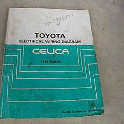 1996 Toyota Land Cruiser Electrical Wiring Diagram Ewd Vauxhall Vectra Towbar 1995 Supra Troubleshooting Manual 1989 Celica Oem