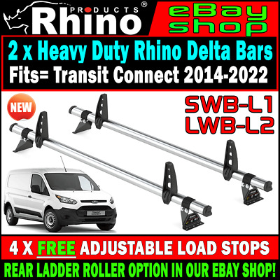 other commercial vans pickup parts swb 4 ford connect roof rack bars and roller rhino transit 2015 2016 2017 2019 tc media