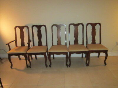 lexington dining chairs fluffy desk chair woodmade by bob timberlake set of five