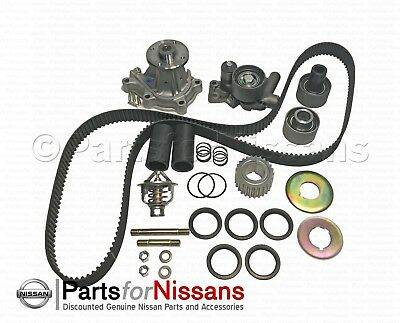 300ZX TURBO Complete Timing Belt+Water Pump Kit Genuine