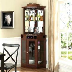 Wine Rack In Living Room Lane Furniture Corner Home Bar Buffet Cabinet Storage Glass Display New