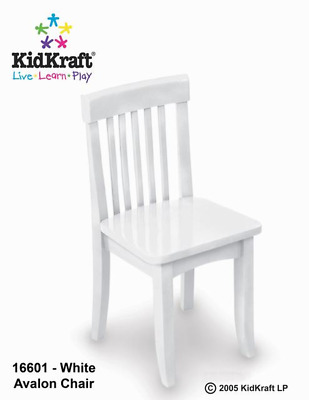kidkraft avalon chair ivory leather dining chairs vanilla 53 95 picclick