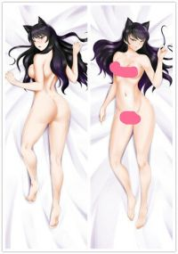 ANIME RWBY BLAKE Belladonna Dakimakura Bed Hugging Body ...