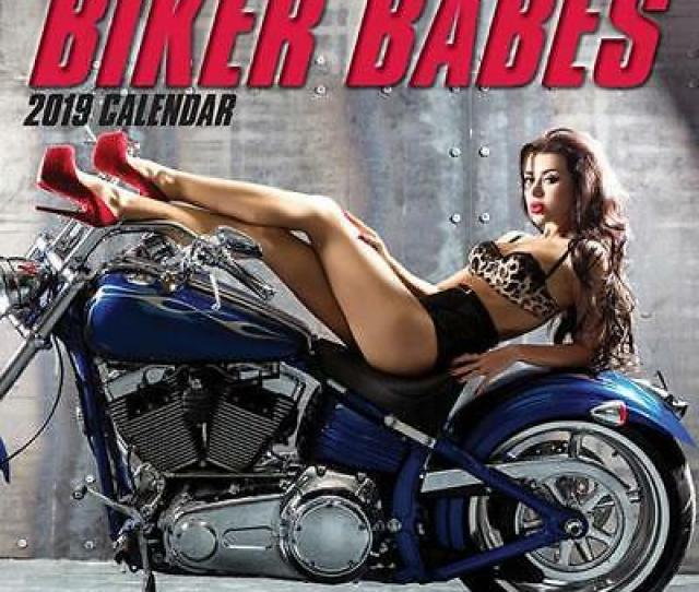 Biker Babes Calendar Cm X 30cm Wall New Sealed By Gifted