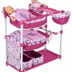 Baby Alive High Chair Fishing For Sale Uk Doll Twin Center Crib Bed Highchair Closet New 69 99