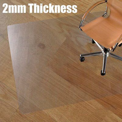 office chair carpet protector uk bar table and set 120x70x0 2cm clear non slip desk mat floor frosted