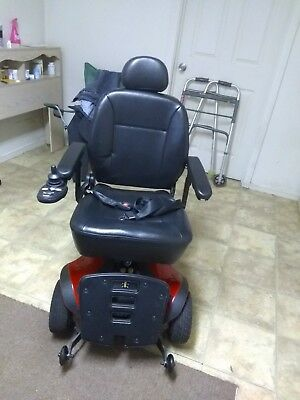 jazzy power chair used wall hugger recliner 614 for parts mobility device electric 6 wheels