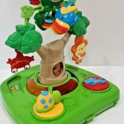 Fisher Price Rainforest Healthy Care High Chair 2 Foam For Cushions Chairs Feeding Baby Page 14 Picclick Replacement Tray Activity Toy