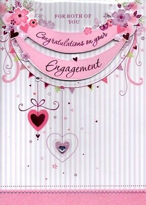 your engagement congratulations both