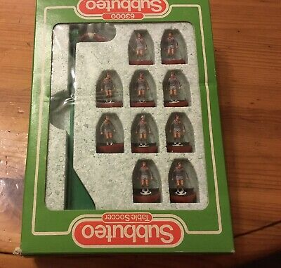 subbuteo team Liverpool Away Strip Complete In Original Box