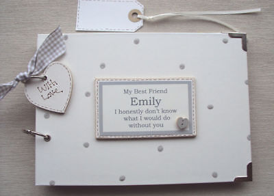 personalised best friend a5