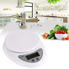 Kitchen Weight Scale Upholstered Chairs With Casters Lcd Digital Electric Weighing Scales Food Balance 5kg Postal Diet Weigh Jk