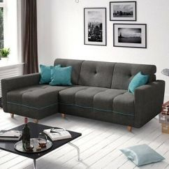 Corner Sofa Bed Oslo Mini Storage Container Sleep Function New Haul Away Anton With And Bary Fabric