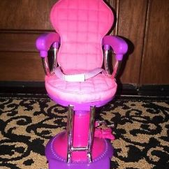 Doll Salon Chair Toddler Desk 18 Inch Pink Beauty 6 30 Picclick