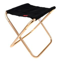 Fishing Chair Lightweight Desk Chairs On Carpet Mini Outdoor Portable Folding Camping Picnic Seat