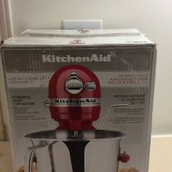 Kitchen Aid 6000 Hd Stone Kitchenaid Professional 4ksm6573cer Stand Mixer 6 Quart Empire Red