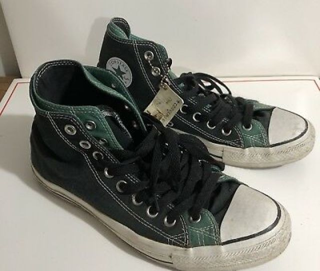 Trashed Converse All Star Chuck Taylor 9 Mens Used Worn