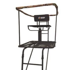Swivel Chair Tree Stand Antique Kitchen Chairs Ladder 16 Deer Hog Game Hunting Supplies Rifle Gun Bow