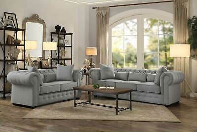 delray traditional sofa taupe chenille