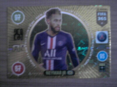 PANINI ADRENALYN XL FIFA 365 2021 TCG GOLD LIMITED EDITION NEYMAR JR PSG Card