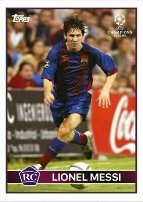 Messi - Topps The Lost Rookie Cards - Barcelona Lionel Messi 2004/05 RC