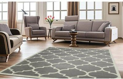 grey living room area rugs paint colors for rooms ideas rug modern contemporary home carpet moroccan trellis