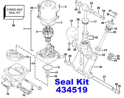Trim & Tilt, Outboard Engines & Components, Boat Parts