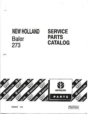 SPERRY NEW HOLLAND Square Baler Service Manual 310 311 315