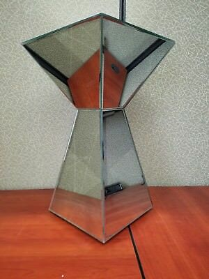 mirrored pyramid living room accent side end table front fifth wheel for sale 60 00 picclick