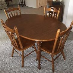Tell City Chairs Pattern 4526 Big Lots Furniture Lift Dining Set Andover Maple 48 Round Table Leaves 8563 Oval Six Two