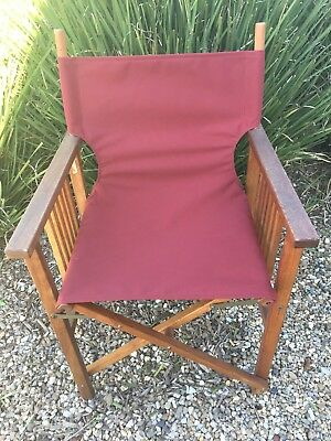 directors chair replacement covers ikea nils all in one director navy burgundy australian made