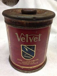 VELVET SMOKING TOBACCO Tin