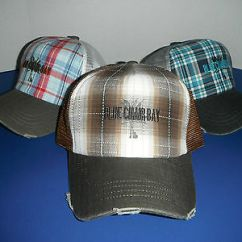 Kenny Chesney Blue Chair Bay Hats Outdoor Folding Chairs With Canopy Nwt Baseball Cap Hat Lot 3