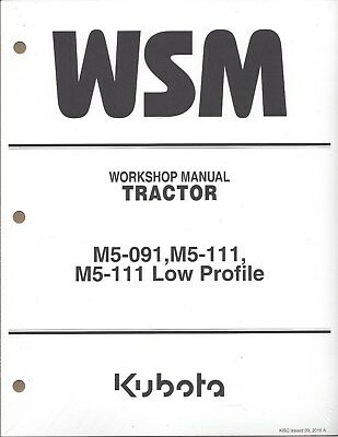 KUBOTA M8560, M9960 Tractor Workshop Service Repair Manual