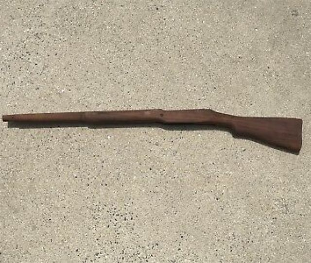 Unissued Nos Vintage Us Model Of 1917 Enfield Rifle Stock Eddystone M1917